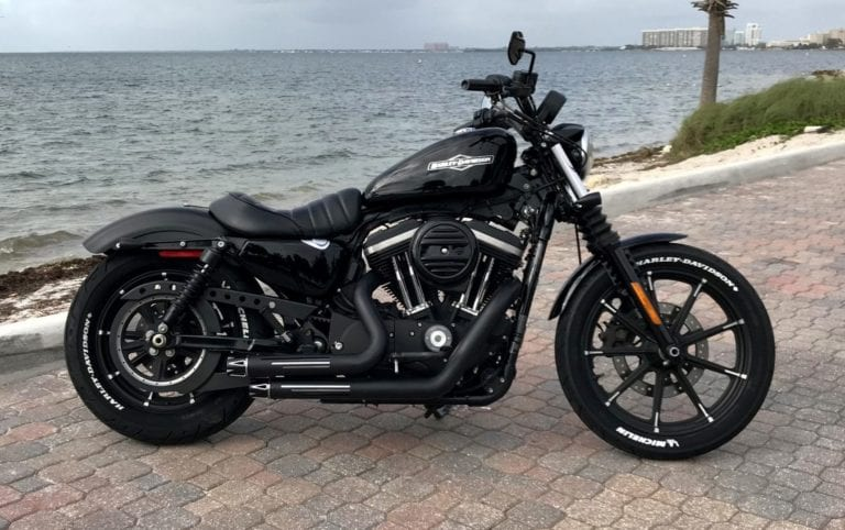 Harley Davidson Sportster Iron 883 Custom Right