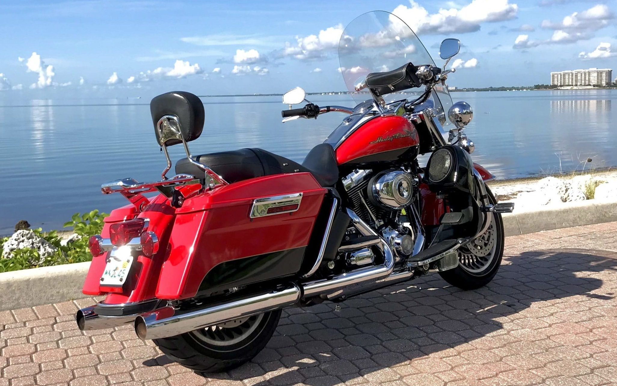 HD Road King '10 back right