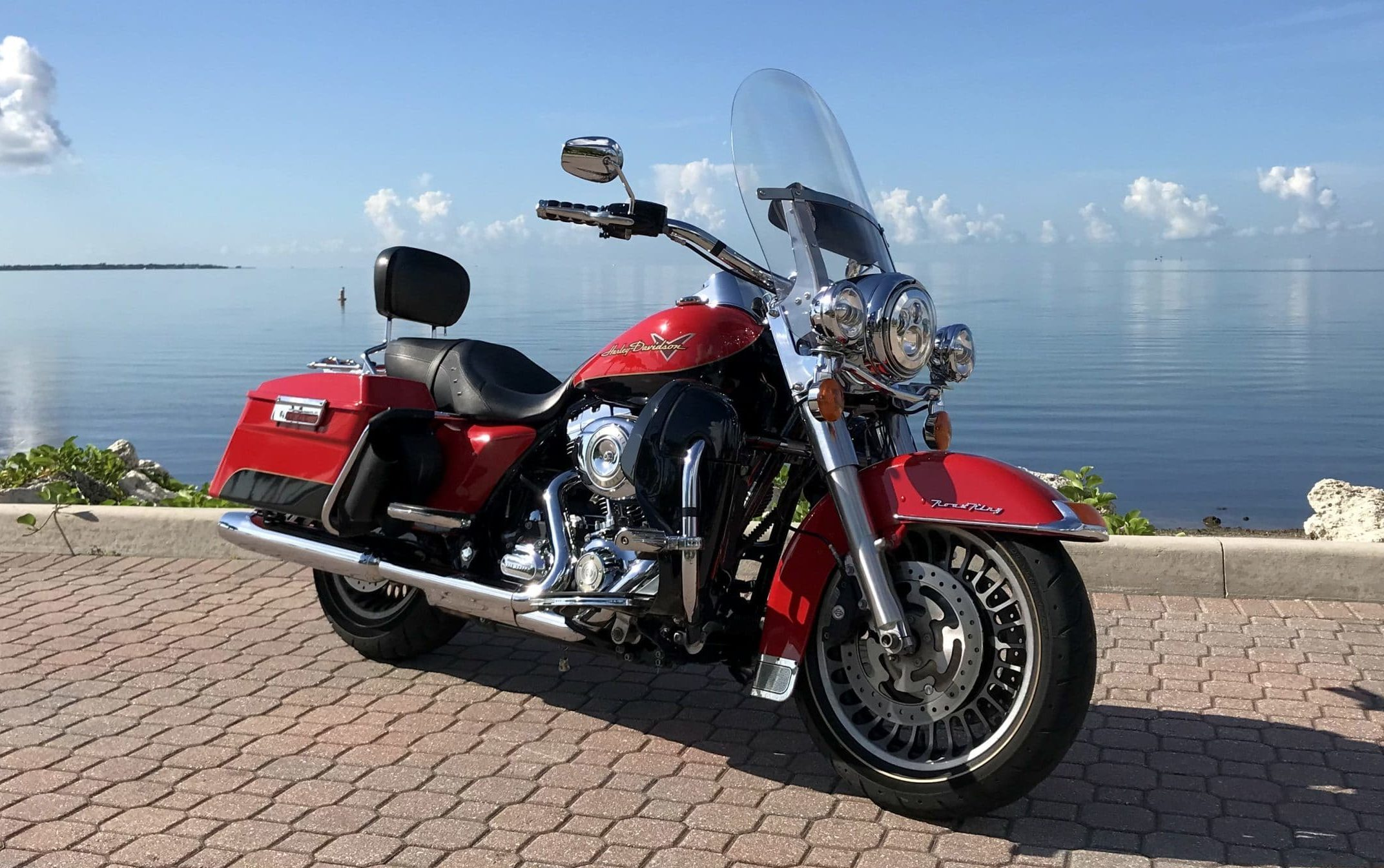 HD Road King '10 front right